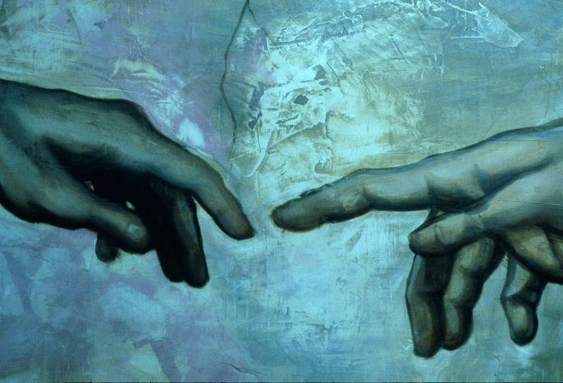 Sistine hands